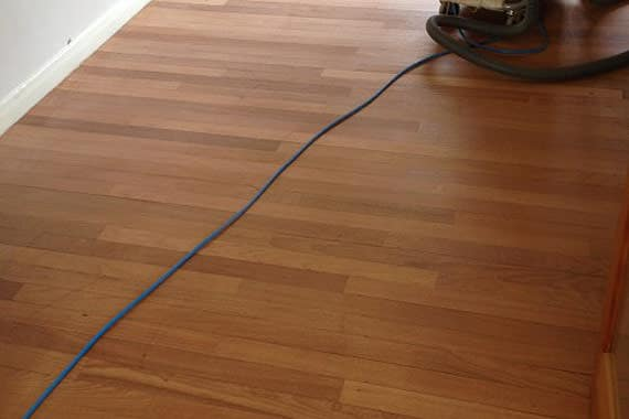 Floor Sanding and Polishing Project