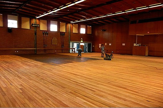hall floor polishing and restoration