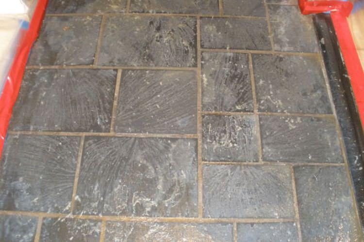 Stone Floor Polishing Restoration Floor Sanding Polishing London - Sanding slate floor