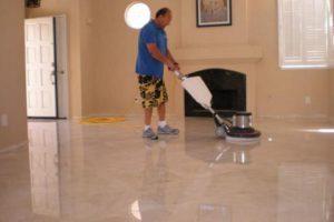 floor polishing London