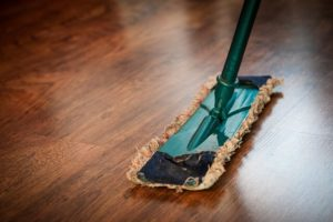 How to clean sanded floors