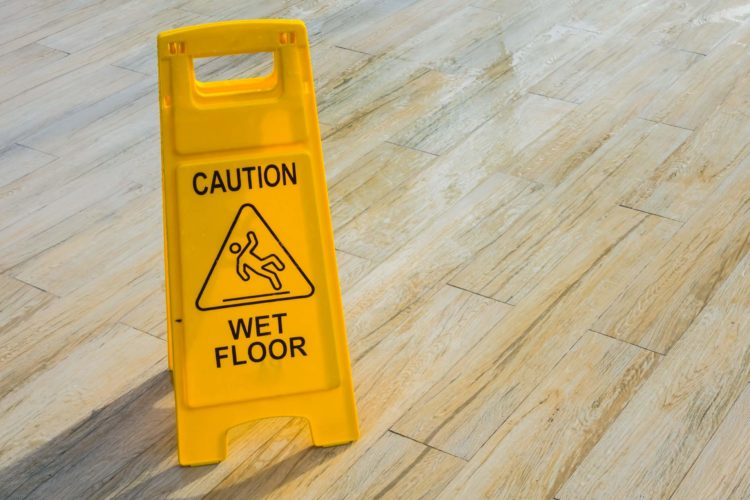 What is necessary for the floor cleaning?