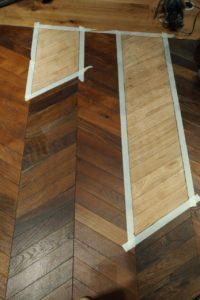 Patch Hardwood Floor