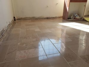 Grout replacement