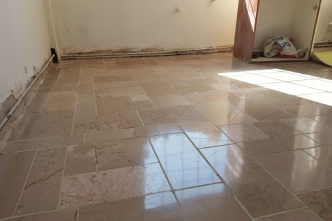 Marble, Tile Polishing, as well as Grout replacement.