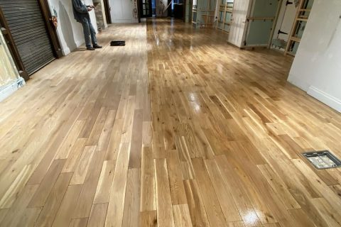 wood floor sanding and polishing