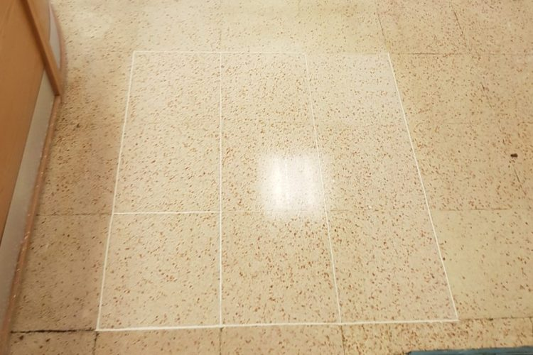 What to clean white grout with?