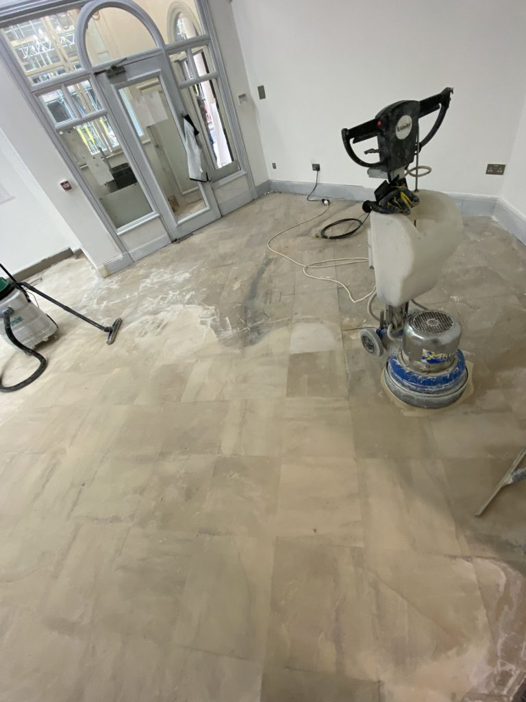 floor stain removing