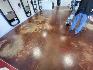 Preparation for cleaning and restoring of wooden floor