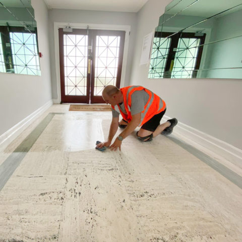Floor Sanding and Polishing London Ltd - home page - man