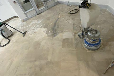 limestone floor restoration