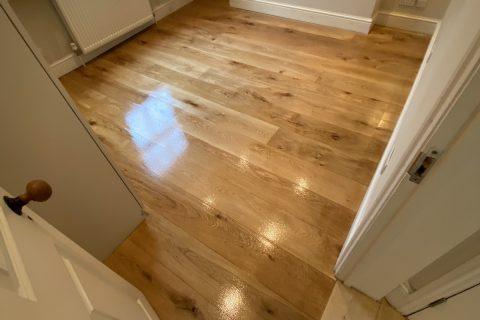 wood floor polished