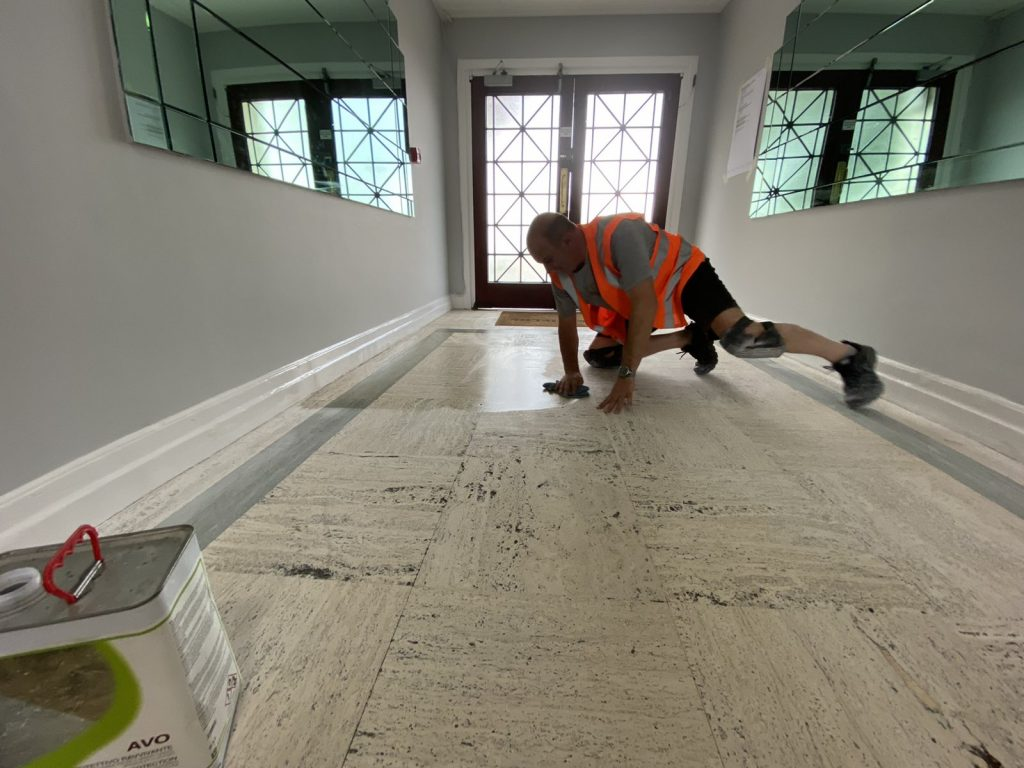 stone floor maintanance